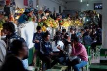 Juice bars in Sucre's Mercado Central.