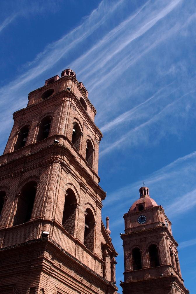 Santa Cruz Cathedral on Plaza 24 de Septembre.