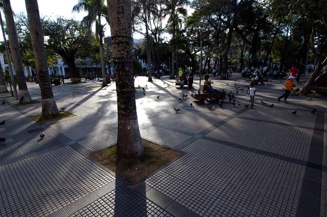 Plaza 24 de Septembre.