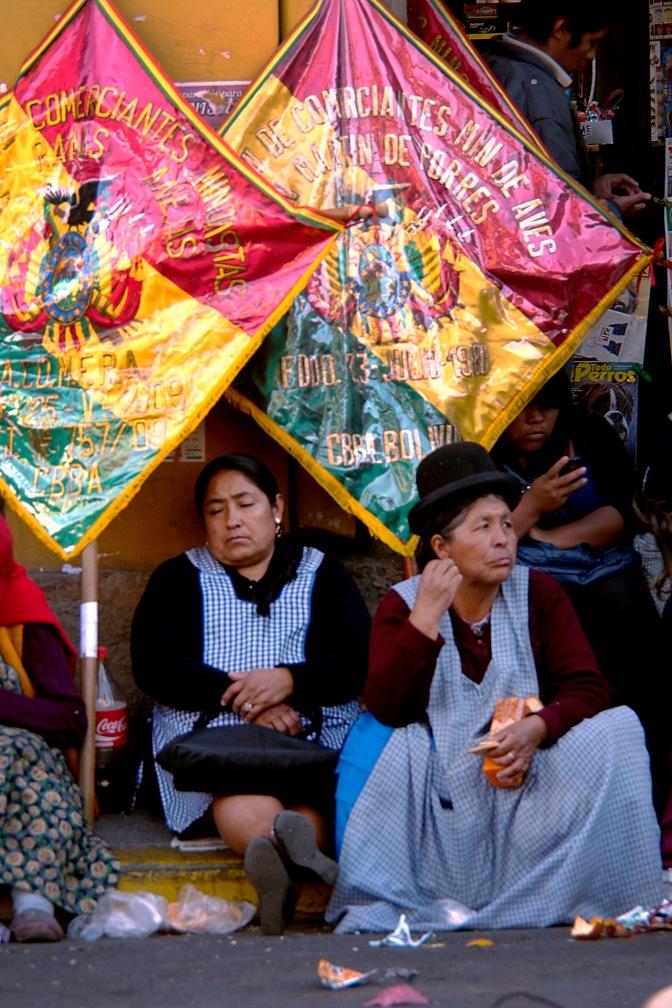 Cochabamba protest.