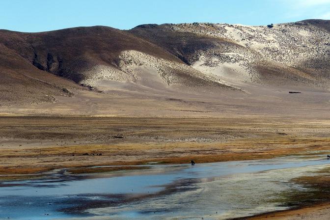 Rio Siquilli flows across the plateau near Shaquilla.