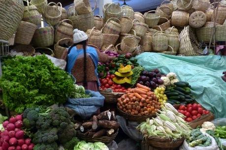 Sucre's central market.