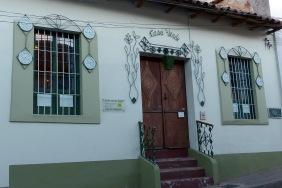 Casa Verde, our hotel in Sucre.
