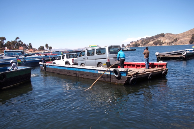 Ferry crossing at San Pablo de Tiqui–a.