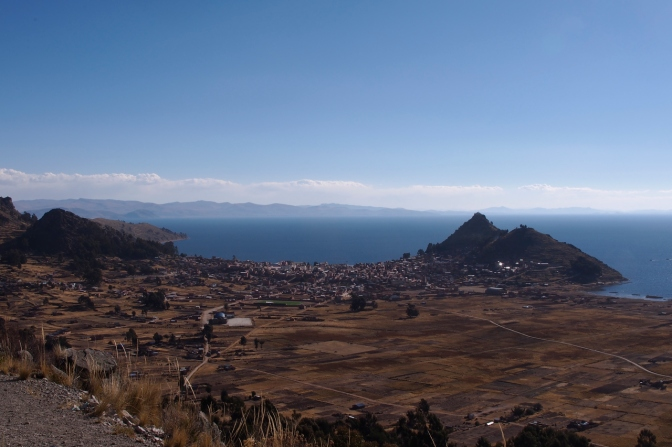 Copacabana on the shores of Lake Titicaca.