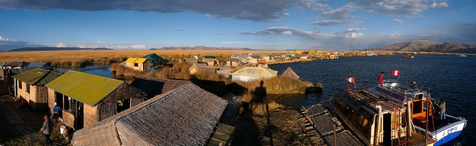 Panorama of Uros.