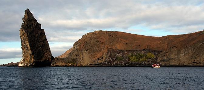 Pinnacle Rock on BartolomŽé Island.