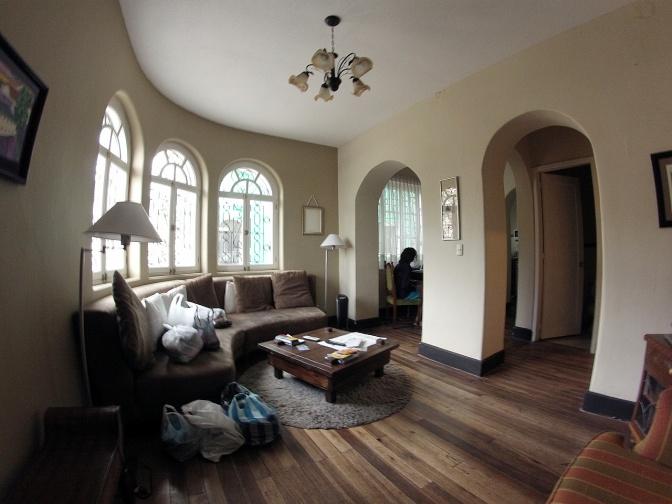 Our apartment in Quito: Casa Liceo.