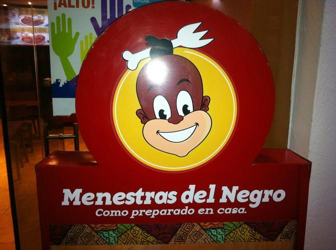 A popular fast food restaurant in Quito's Plaza Grande.