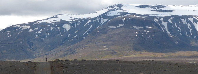 Panorama of Kerlingarfjšöll, Iceland.
