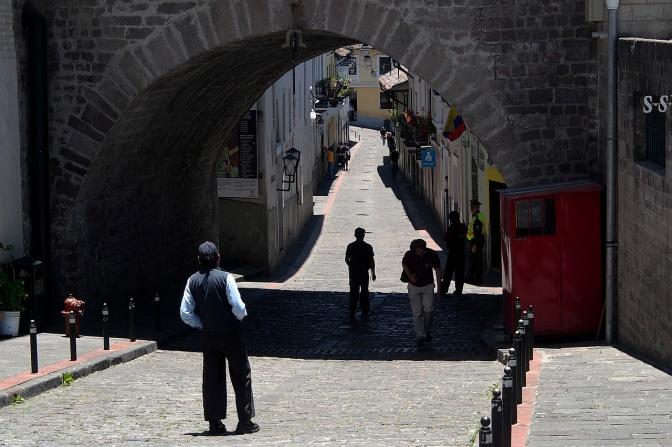 La Ronda, also known as Jerusalem Gully.