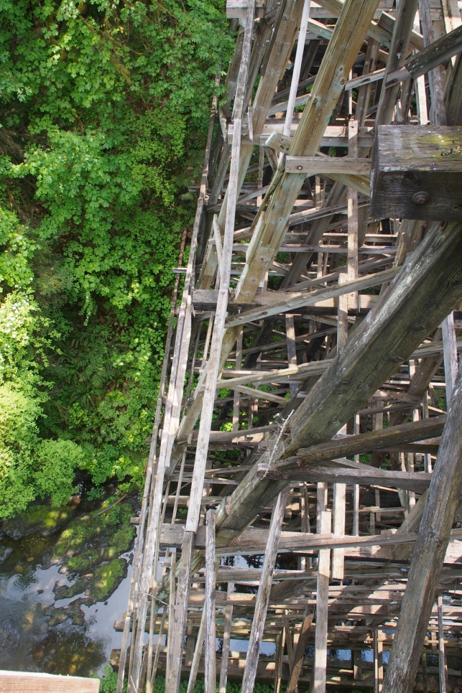 The Holt Creek trestle.