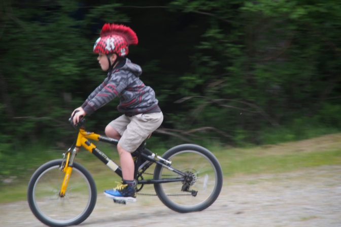 Future bike touring gladiator.