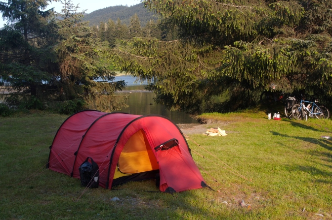 Port Renfrew camp site.