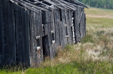 A weathered barn along Hwy. 507 in southern Alberta.