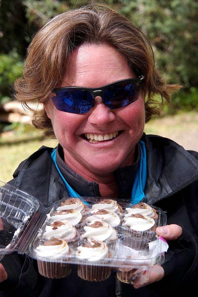 Ellen, the cupcake lady.