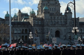 Victoria Remembrance Day Parade.