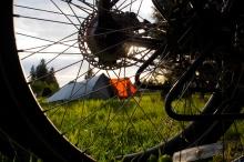 Forks camp site.