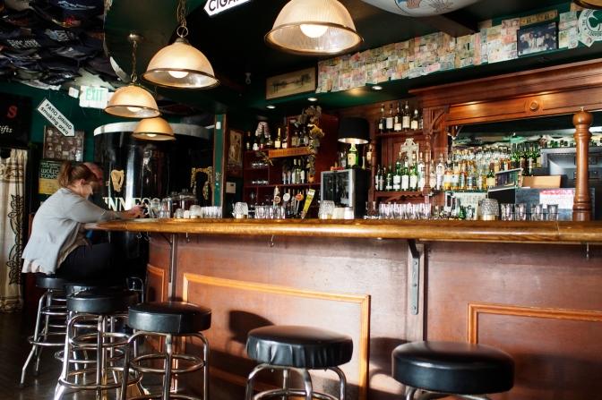 Irish pub in Ocean Shores.