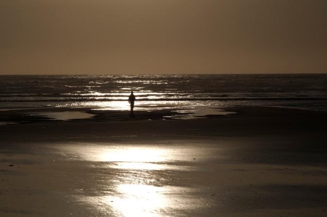 Walking Grayland beach.