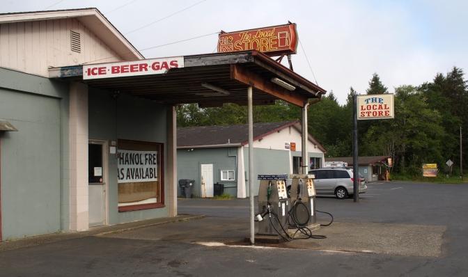 Ice, beer and gas. All you need for a good time at the Local Store.