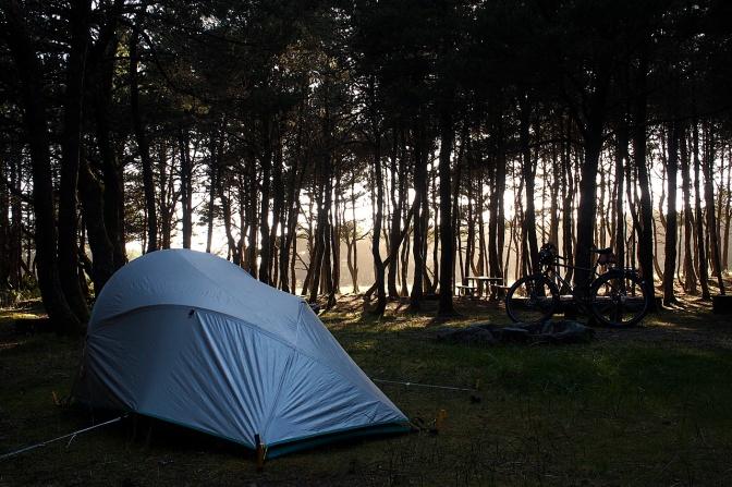 Nehalem campsite.
