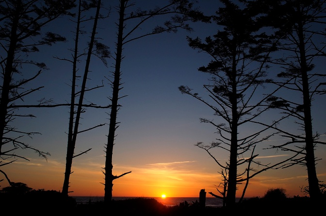 Cape Lookout sunset.