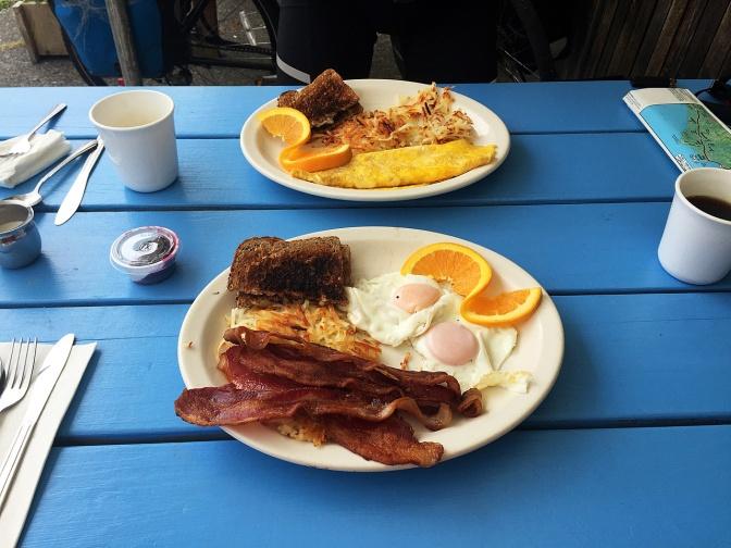 Second breakfast.