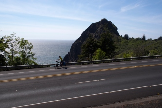 HWY 101 near Arizona Beach.