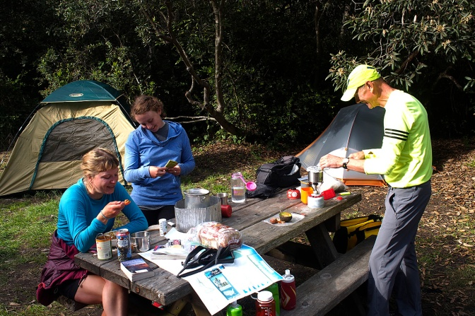 Camped again with Rod, Kendra and SaraMae at the Pinewood campground in MacKerricker State Park outside Ft. Bragg, CA.