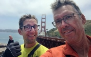 The end of our tour together at San Fransisco's most famous landmark.