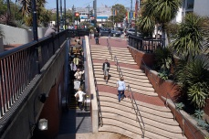 Castro Street Muni Station at Harvey Milk Plaza.