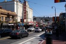 The iconic Castro Theatre.