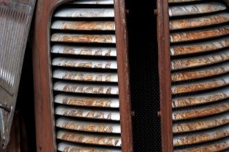 Truck grill.