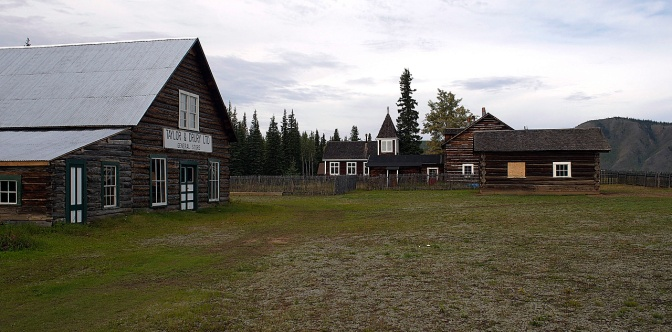 The Taylor & Drury store at Fort Selkirk.