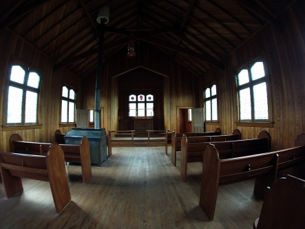 St. Andrew's Anglican Church interior.