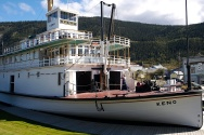 The SS Keno was the last steamer on the Yukon in 1960.