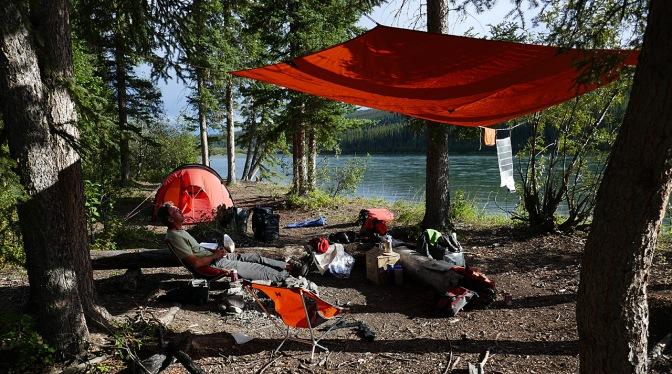 Horseshoe Bend campsite.