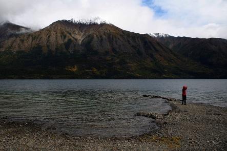 Tutshi Lake.
