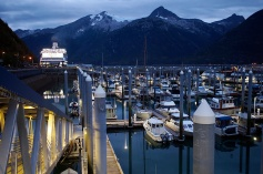 Skagway harbour.