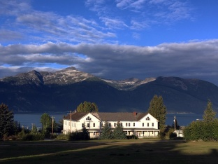 Fort Seward in Haines, AK.