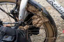 Mud clog.