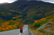 The Haines Highway along Tatshenshini-Alsek Provincial Park.