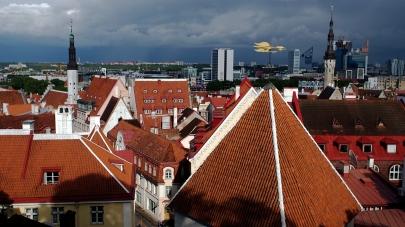 Tallinn roof tops.