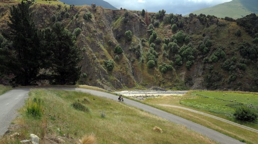 Awatere Valley hairpin.